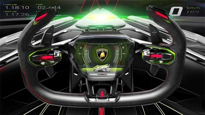 Lamborghini mang concept 'siêu ấn tượng' từ game ra đời thực - ảnh 9