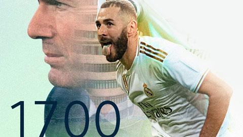 Real chạm cột mốc 1.700 chiến thắng sớm nhất tại La Liga