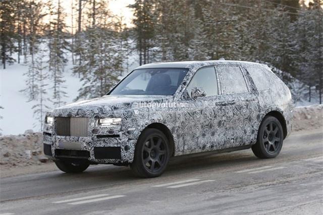 10. Rolls-Royce Cullinan 2018.