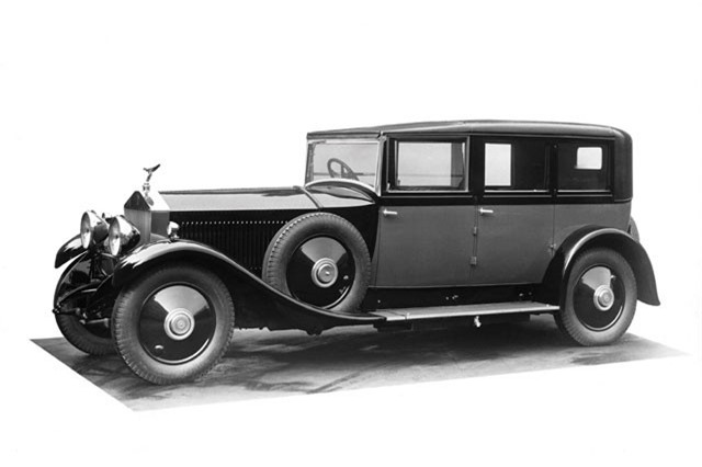 3. Rolls-Royce Phantom I 1925.