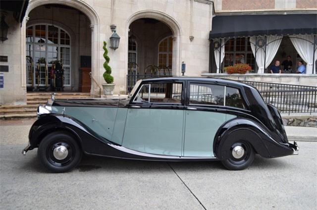 4. Rolls-Royce Silver Wraith 1946.
