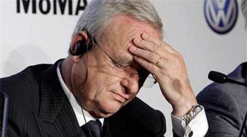 CEO Volkswagen, ông Martin Winterkorn