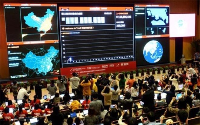 Tập đoàn Alibaba đạt doanh thu hàng tỷ USD trong