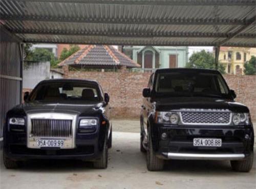 Hai trong số siêu xe của bầu Thụy