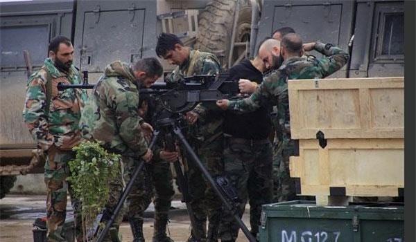 Quân đội Syria điều quân và thiết bị tới Deir Ezzur