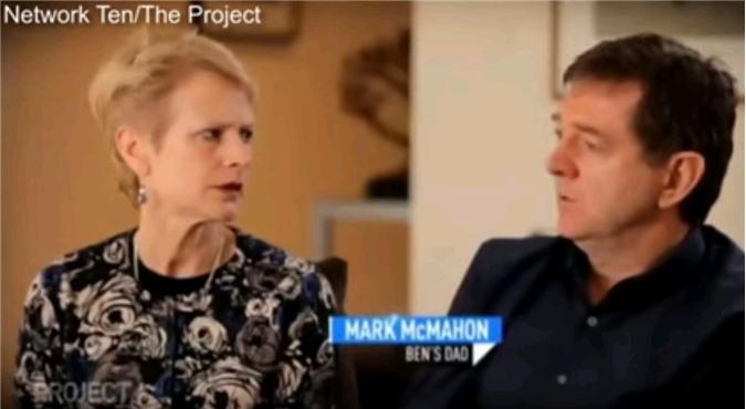 Bố của Ben, ông Mark McMahon kể lại sự việc.