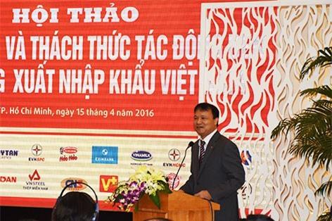 Thứ trưởng Bộ Công Thương Đỗ Thắng Hải phát biểu tại hội thảo
