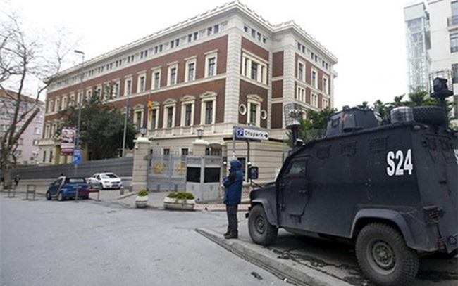 Tổng Lãnh sự quán Đức tại thành phố Istanbul của Thổ Nhĩ Kỳ.