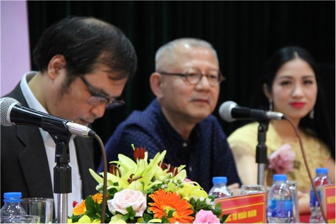 Nhạc sĩ Trọng Đài - NSND - Trưởng ban Âm nhạc, Đài tiếng nói Việt Nam (thành viên Ban giám khảo - BGK