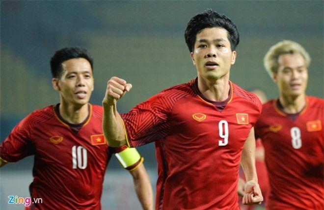 Olympic Việt Nam gặp Olympic Syria ở tứ kết. Ảnh: Zing.