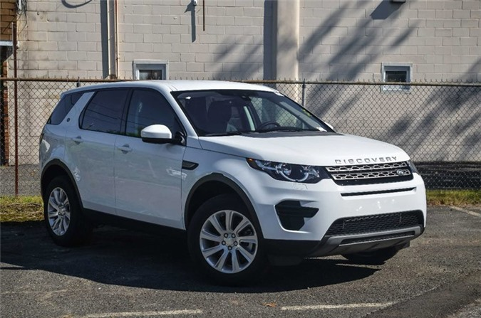 8. Land Rover Discovery 2018.