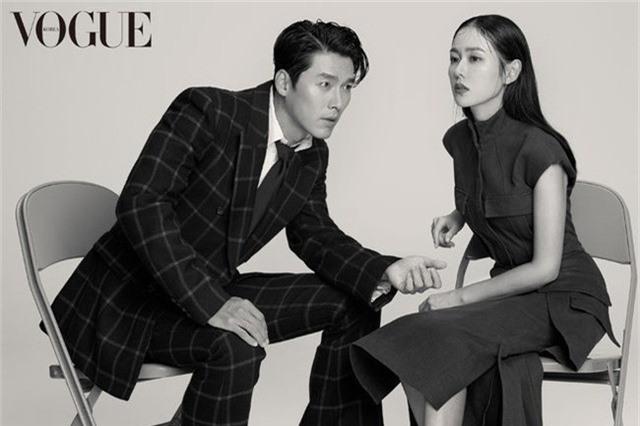 Hyun Bin - Son Ye Jin đẹp xuất thần trên tạp chí Vogue Korea - Ảnh 1.