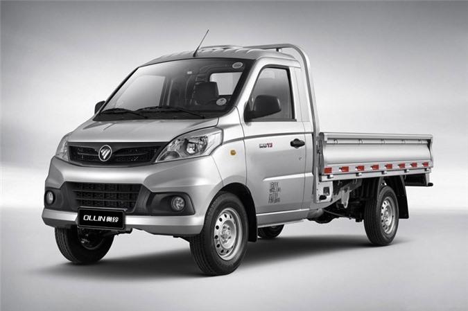 10. Foton Light Truck (doanh số: 164.111 chiếc).