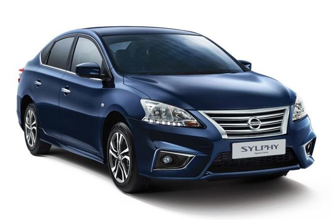 3. Nissan Sylphy (doanh số: 245.224 chiếc).