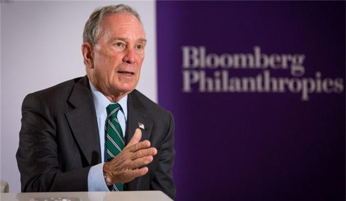 Tỷ phú Michael Bloomberg tại một sự kiện của Bloomberg Philanthrophies - quỹ từ thiện mang tên ông. Ảnh: induced.info