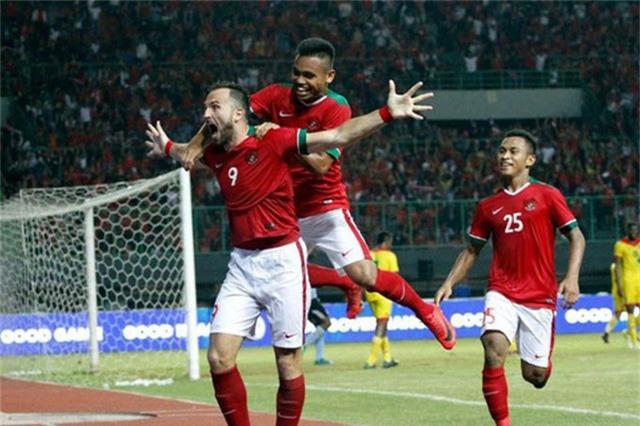 Olympic Indonesia là đội Đông Nam Á ghi nhiều bàn thắng nhất Asiad 2018