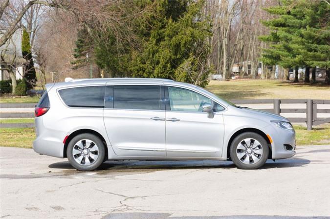10. Chrysler Pacifica (doanh số: 67.677 chiếc).
