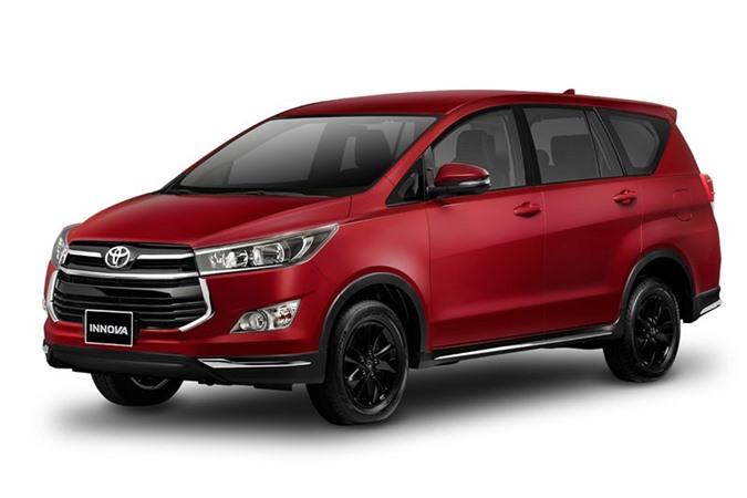 4. Toyota Innova (doanh số: 86.583 chiếc).