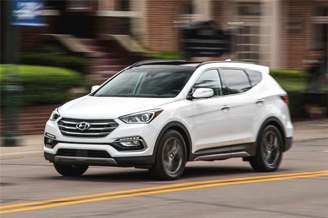 1. Hyundai Santa Fe 2018.
