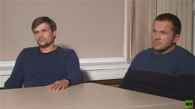 Alexander Petrov và Ruslan Boshirov (Ảnh: RT)