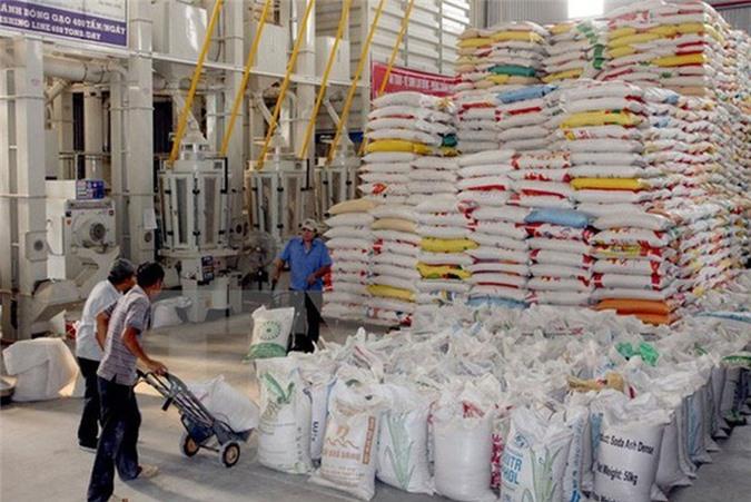 Xuất khẩu gạo tăng mạnh về giá trị.