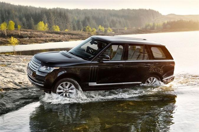 5. Land Rover Range Rover 2018.