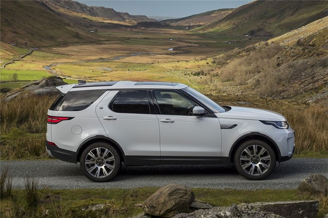 1. Land Rover Discovery 2018.
