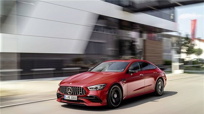 Mercedes-AMG GT 43 coupe 4 cua 2019 ra mat hinh anh 2