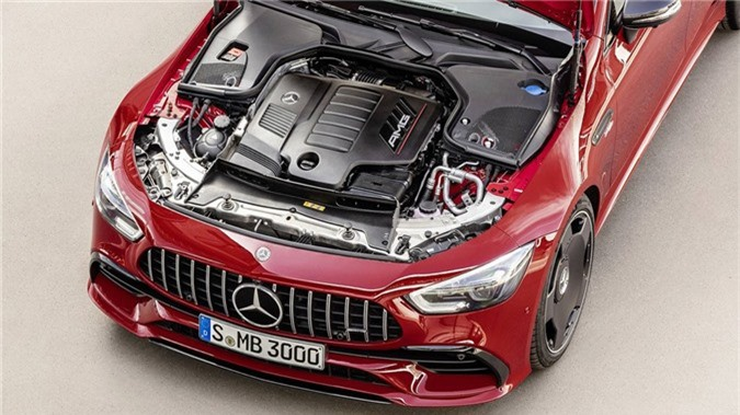 Mercedes-AMG GT 43 coupe 4 cua 2019 ra mat hinh anh 3