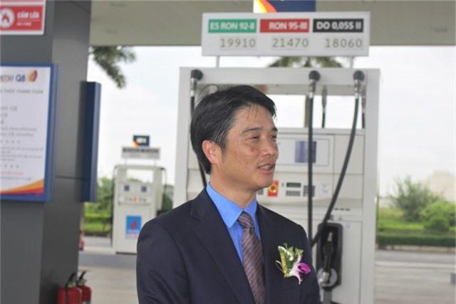 Ông Honjo cho biết Idemitsu Q8 cũng gặp nhiều trở ngại trong khi làm thủ tục giấy phép để mở trạm xăng tại Việt Nam. (Ảnh: Hồng Vân)