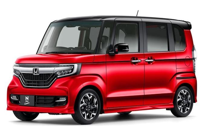 1. Honda N-Box (doanh số: 162.725 chiếc).