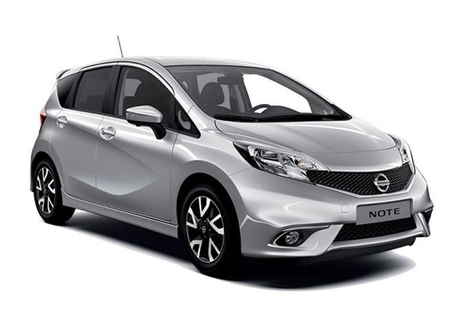 3. Nissan Note (doanh số: 95.283 chiếc).