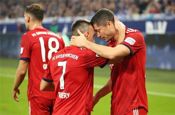 Bayern ung dung ở ngôi đầu bảng.