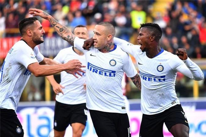 Inter tìm lại niềm vui chiến thắng ở Serie A.