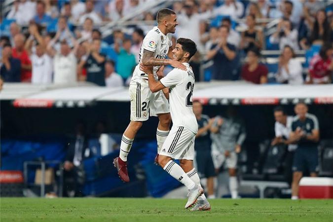 Real đang bất bại ở La Liga mùa này.