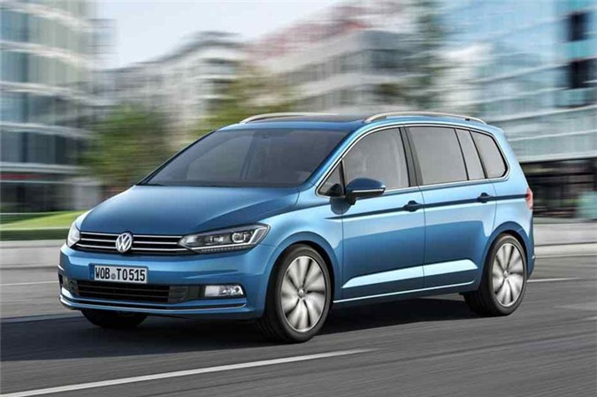3. Volkswagen Touran.