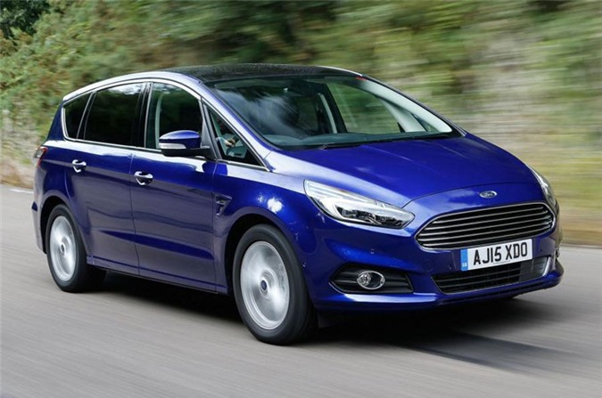 4. Ford S-Max.