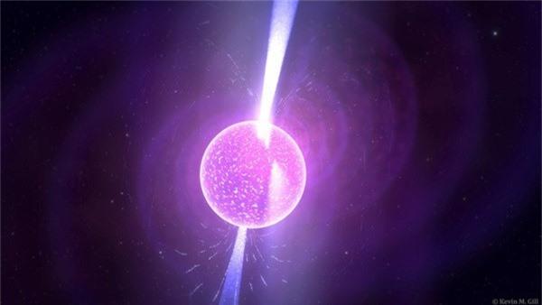 Bi an kho giai quanh ngoi sao neutron ki la gay to mo