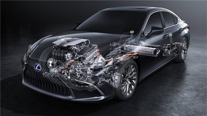 Anh chi tiet Lexus ES 2019, gia tu 46.000 USD hinh anh 7