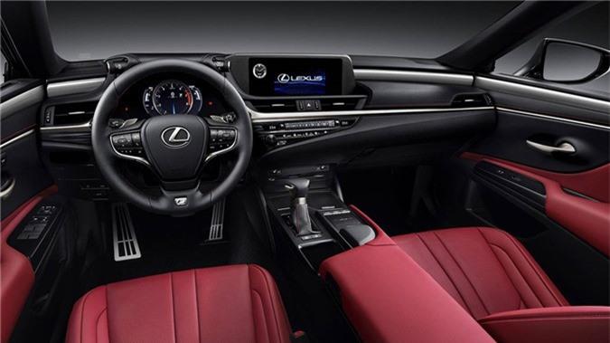 Anh chi tiet Lexus ES 2019, gia tu 46.000 USD hinh anh 9