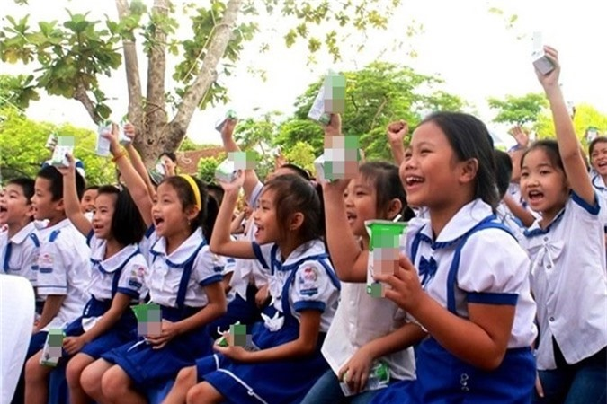 Mục tiêu của đề án là cải thiện tình trạng dinh dưỡng góp phần nâng cao tầm vóc trẻ em mẫu giáo và học sinh tiểu học trên địa bàn thành phố Hà Nội. Ảnh minh họa.