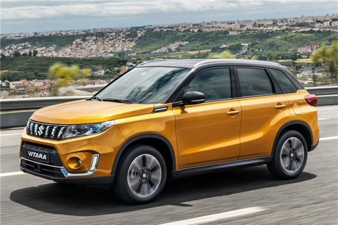 Suzuki Vitara 2019 lo dien hoan toan, loai bo dong co diesel hinh anh 2