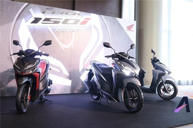 Bộ đôi 2018 Honda Click 125i và 150i hoàn toàn mới vừa về Philippines, trước đó đã được trình diện tại thị trường Thái Lan.