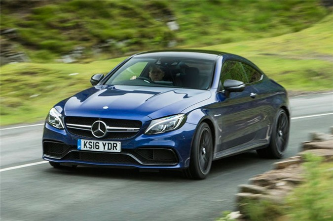 1. Mercedes-AMG C 63 S Coupe 2018.