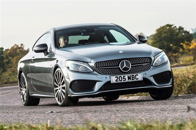 8. Mercedes-AMG C 43 Coupe 2018.