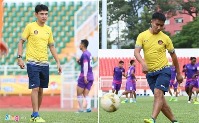 HLV doi Sai Gon lam benh o giai doan quan trong cua V.League hinh anh 1