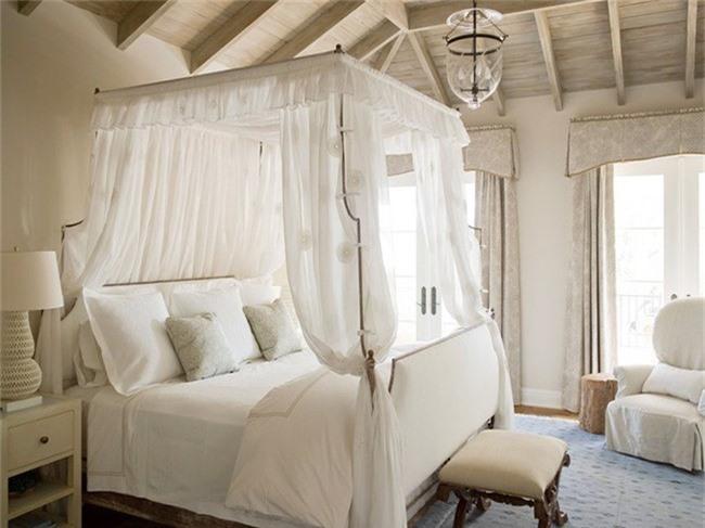 Những mẫu giường Canopy vừa đẹp vừa nữ tính khiến chị em mê mẩn - Ảnh 15.