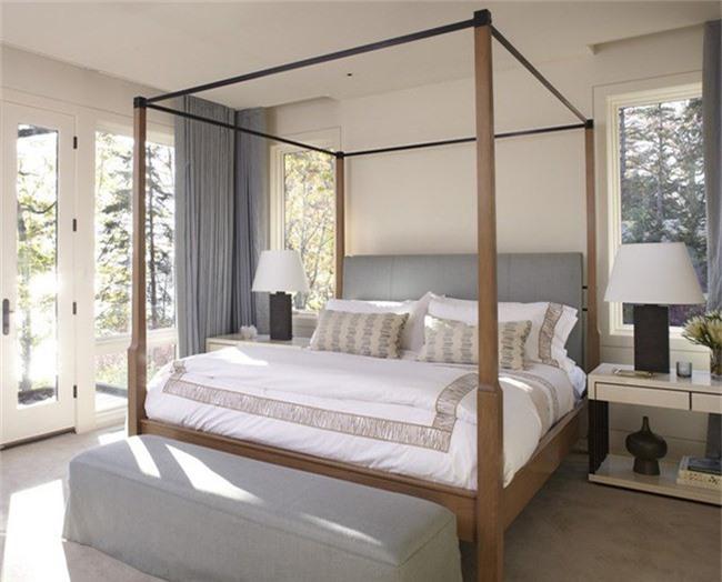 Những mẫu giường Canopy vừa đẹp vừa nữ tính khiến chị em mê mẩn - Ảnh 3.