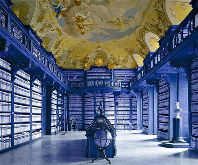 Nhiếp ảnh gia người Ý thực hiện cuộc hành trình đi tìm thư viện đẹp nhất thế giới, và đây là những gì anh ấy ghi lại được - Ảnh 10.