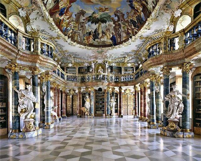 Nhiếp ảnh gia người Ý thực hiện cuộc hành trình đi tìm thư viện đẹp nhất thế giới, và đây là những gì anh ấy ghi lại được - Ảnh 8.